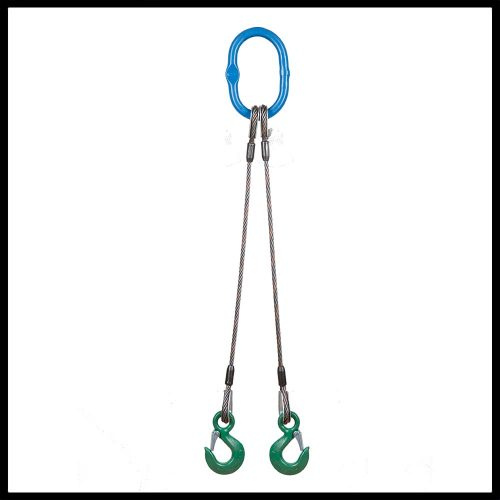 Wire Rope Sling - 2 Leg Bridle
